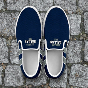 Diehard Dallas Fan Slip-On