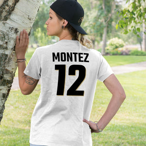Personalized Colorado Fans Adult Unisex T-Shirt - Any Name & Number