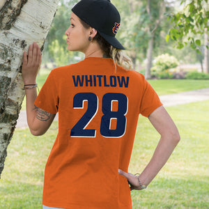 Personalized Auburn Fans Adult Unisex T-Shirt - Front & Back Design
