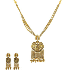 22K Gold Kashvi  Antique Jewelry Set - Virani Jewelers
