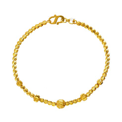 22K Yellow Gold Amara Beaded Bracelet