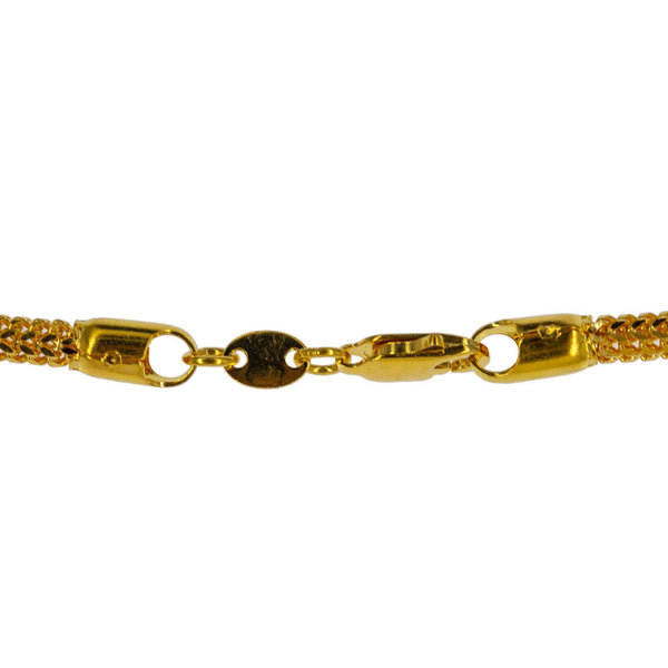 An image of the lobster claw clasp for the gold chain for men and women from Virani. | Enhance your wardrobe and give yourself the boost of confidence that you need with this gorgeous ...