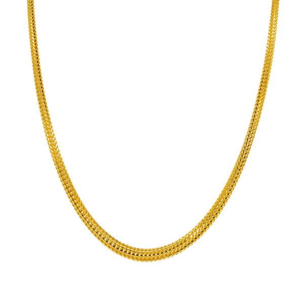 An image of the thick gold chain for men and women from Virani Jewelers. | Enhance your wardrobe and give yourself the boost of confidence that you need with this gorgeous ...