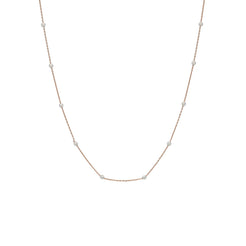 22K Gold Multitone Chain, Length : 16inches