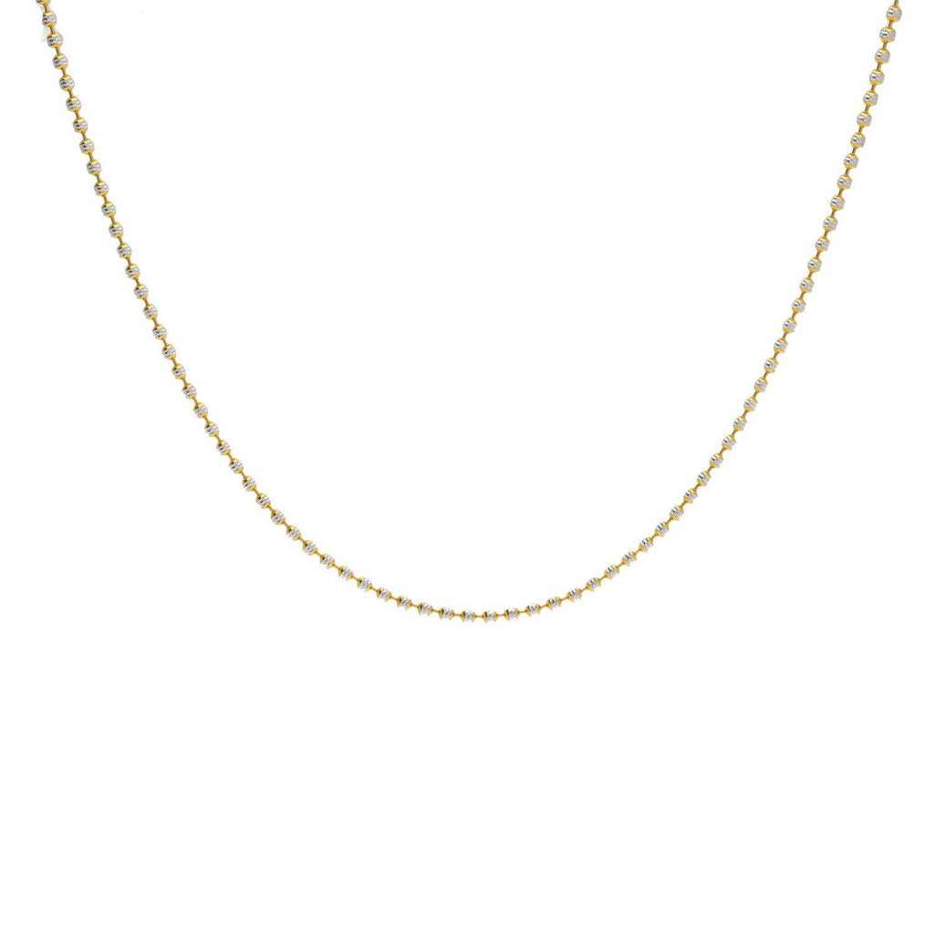 22K Gold Fancy Chain, Length 18inches |    Add a chain to your everyday look to make yourself a little more put together.Enjoy the versat...