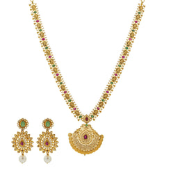 22K Gold & Uncut Diamond Dayita Set
