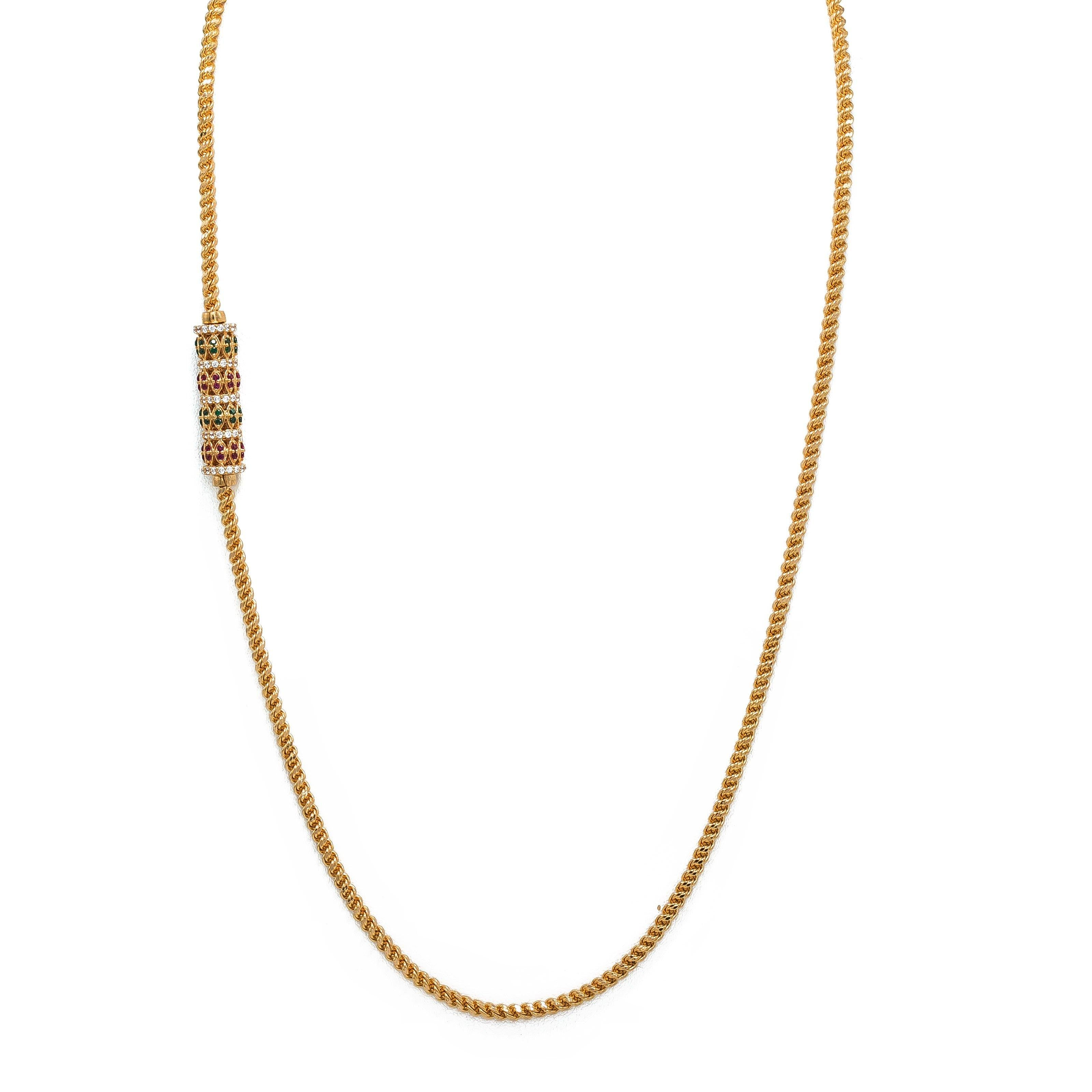 Gold Indian chains new photo