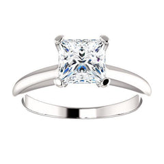 Classic Four Prong Solitaire Diamond Engagement Ring