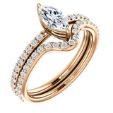 Classic Solitaire Diamond Engagement Ring |