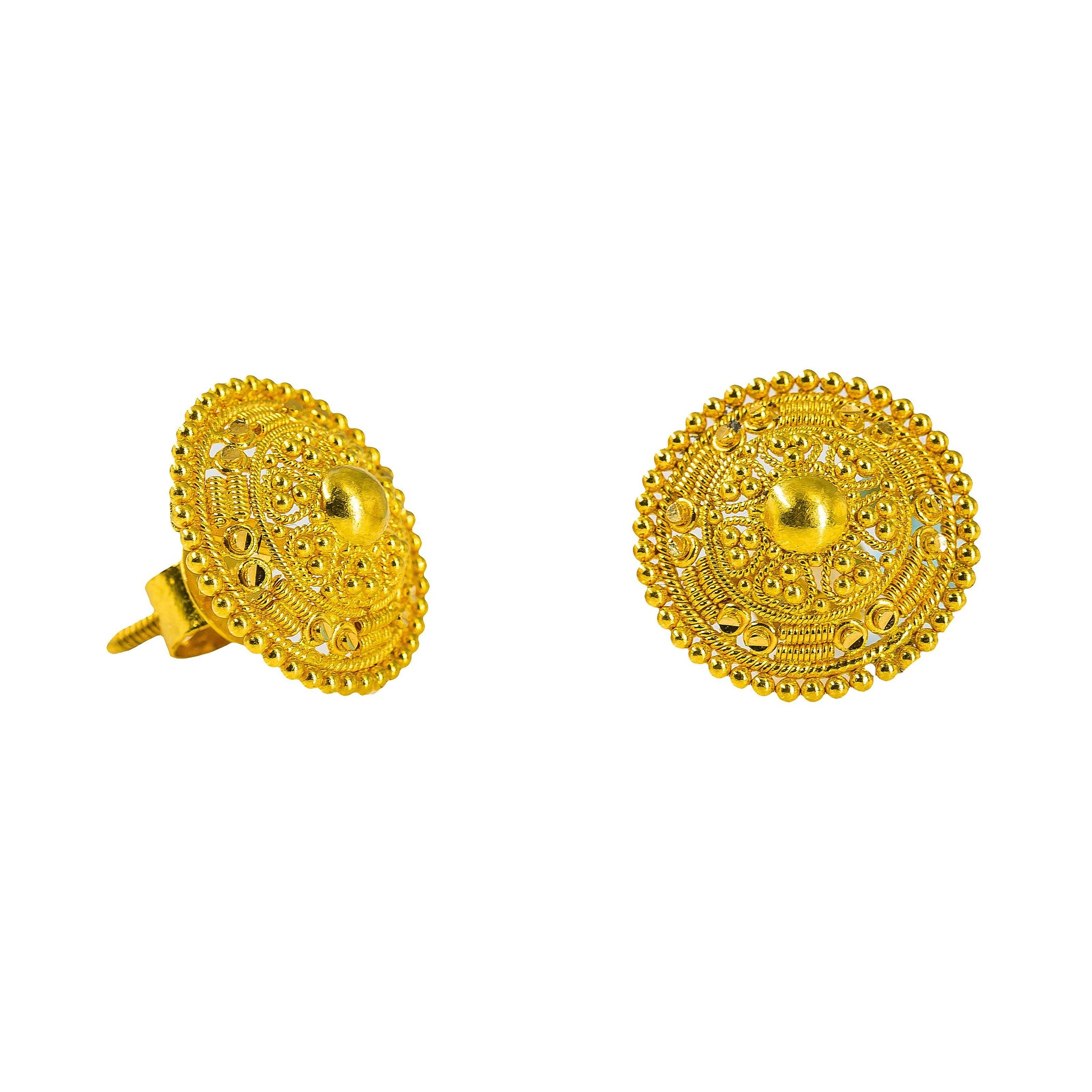 studs amy selected jewelry earrings gold gregg circle large stud products oversized