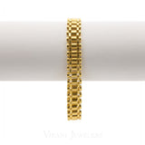 22K Yellow Gold Box Chain Link Bracelet for Men | 22K Yellow Gold Box Chain Link Bracelet for Men. Gold weight is 31.4 grams. Light weight minimal ...