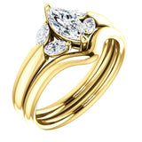 Virani Classic Five-Stone Diamond Engagement Ring |