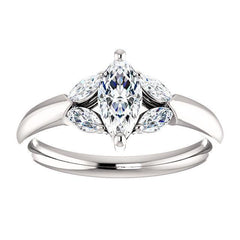 Virani Classic Five-Stone Diamond Engagement Ring