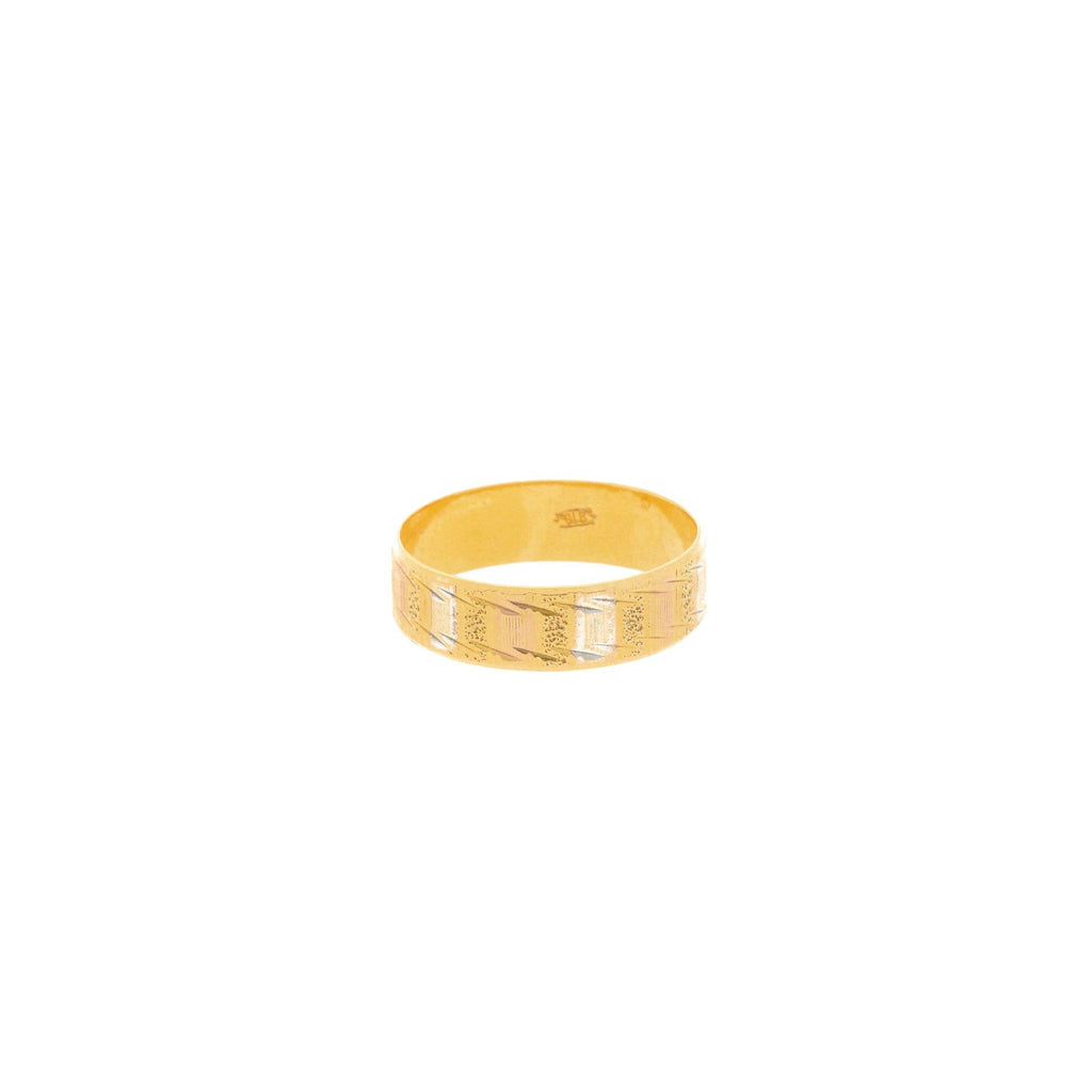 22K Multi-Tone Gold Artisan Ring |    The 22K Multi-Tone Gold Artisan Ring from Virani Jewelers has a stylish design that makes this...