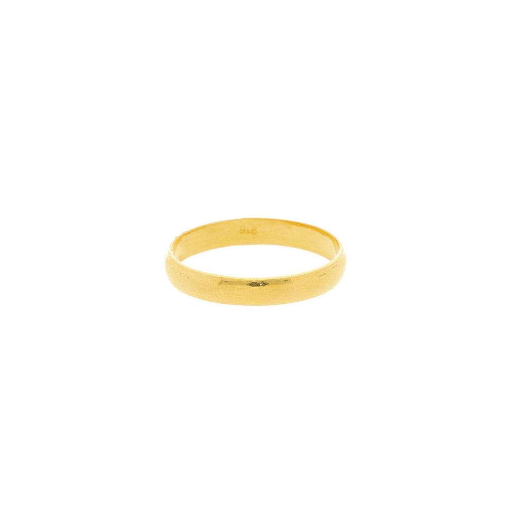 22K Gold 2.8 Grams Classic Ring |    The 22K Yellow Gold Victory Ring from Virani Jewelers is the perfect ring for women who loves ...