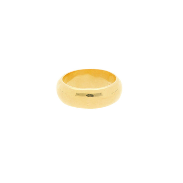22K Gold 4.7 Grams Classic Ring - Virani Jewelers |    The 22K Gold 4.7 Grams Classic Ring from Virani Jewelers is the ideal ring for men and women t...