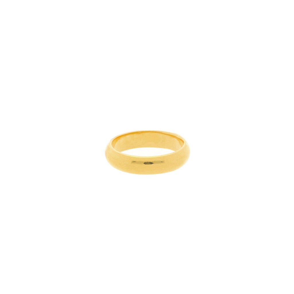 22K Gold 4.5 Grams Classic Ring |    The 22K Gold 4.5 Grams Classic Ring from Virani Jewelers is the ideal ring for men and women t...