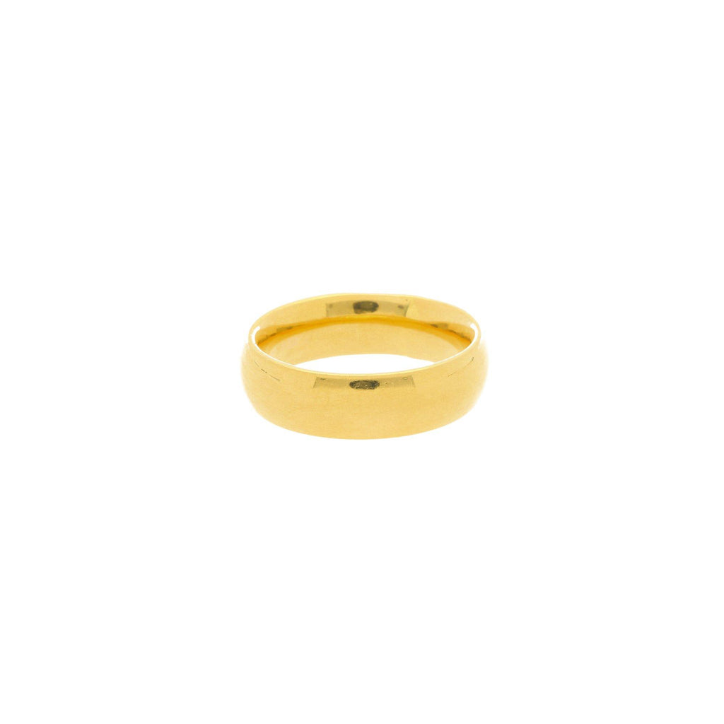 22K Gold 3 Grams Classic Ring |    The 22K Gold 3 Grams Classic Ring from Virani Jewelers is the ideal ring for men and women tha...