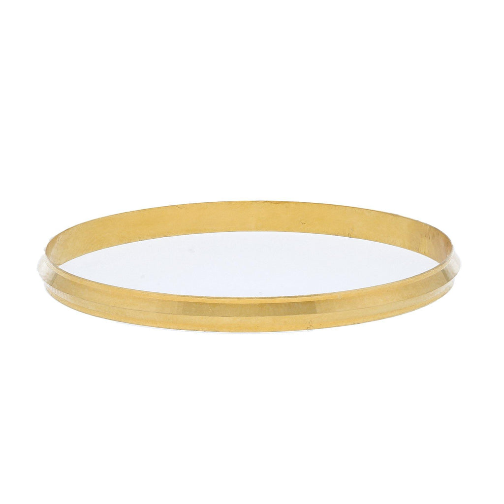 22K Yellow Gold Baby Kada Bangle |    Add gifts of gold to your baby's collection with smooth and sleek pieces like this 22K yellow ...