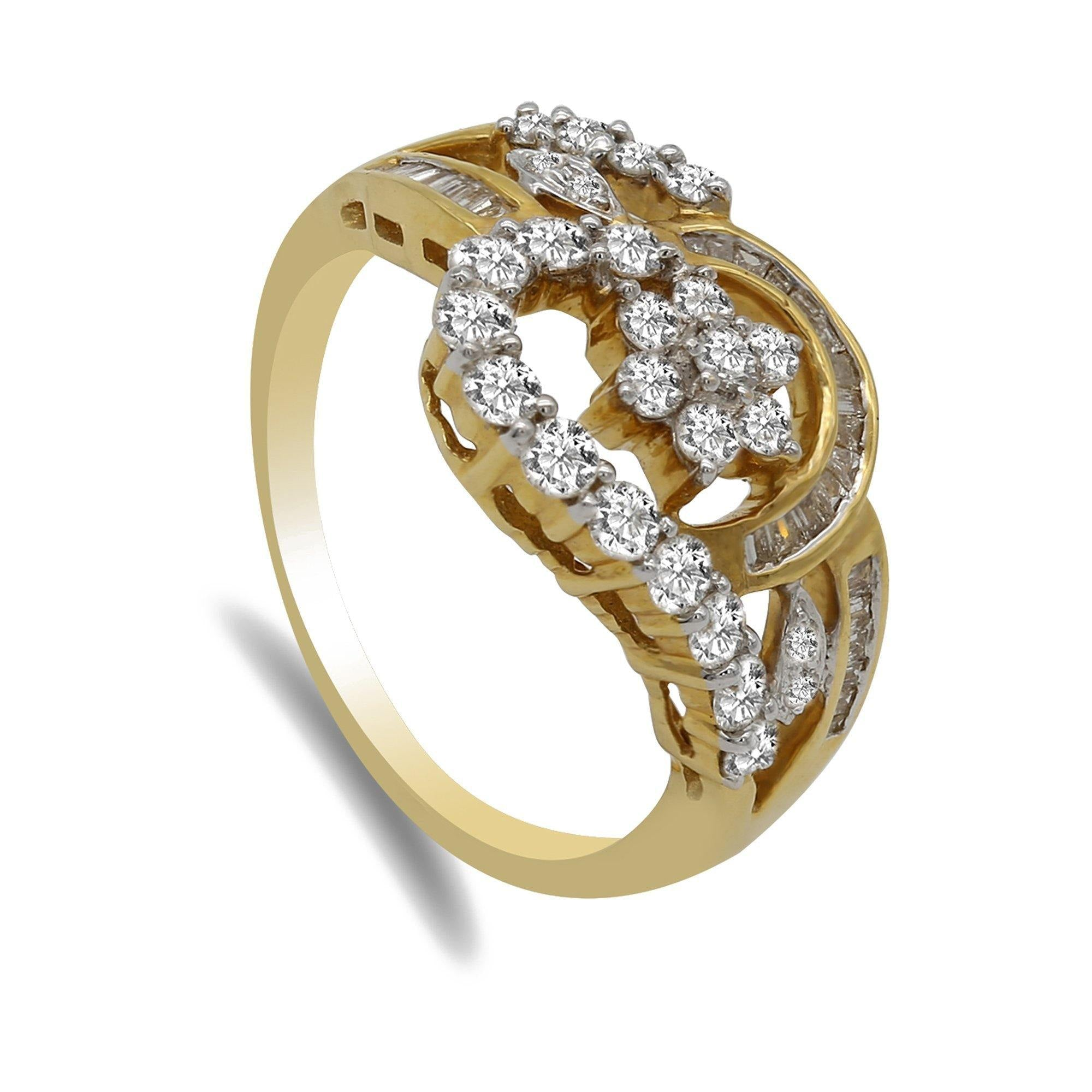 diamond by lds tashne intertwined g simon product bands gold ring and ladies rose jewels