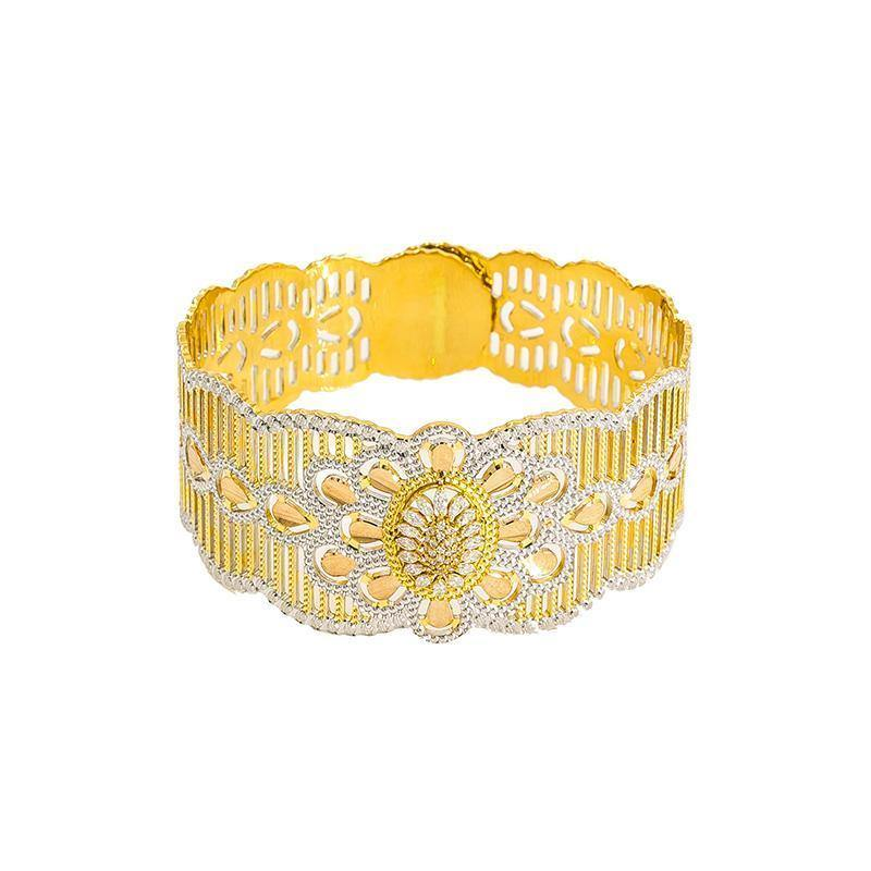 22K Gold 1 Piece Bangle |