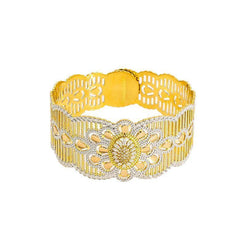22K Gold 1 Piece Bangle