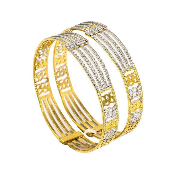 22K Gold 2 Piece Bangles |