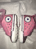 Bling Baby Converse First Star - Pink & Tulle