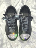 Womens Bling Converse for Brides, Bridesmaids, SPARKLY SNEAKERS