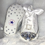 Baby Bling Fashion Sneakers Converse (Diamonds for Girls)