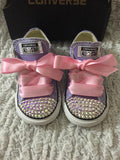 Girl's Bling Converse (Sophia the First)