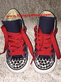 Boys Custom Converse w/ Spikes & Name
