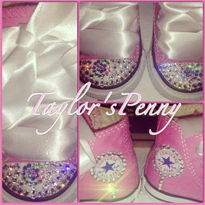 Girls Bling Converse Inspired by Candy Land
