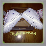 Baby First Star Bling Converse for Christenings (Unisex)