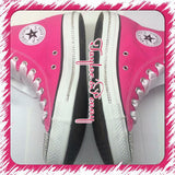 Women's Bling  Converse (Bridal)