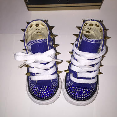 32a91d42326b4e Boys Converse Custom for (KING) Royalty – Taylors-Penny