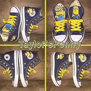 Boys Minion Sneakers