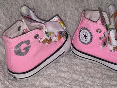 1ad678c19ee5 ... Girl s Bling Converse (Cupcake) Sparkly Sneakers