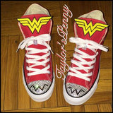 Wonder Womans Bling Sneakers