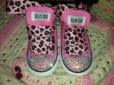 Girl's Bling Converse AB Crystallized