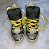 Queen Bee Girls Bling Converse (L.O.L. Surprise) Sneakers
