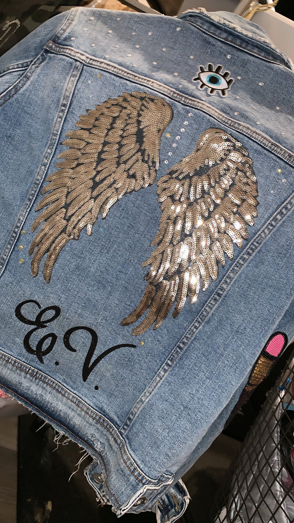 Womens Custom  Denim Jacket