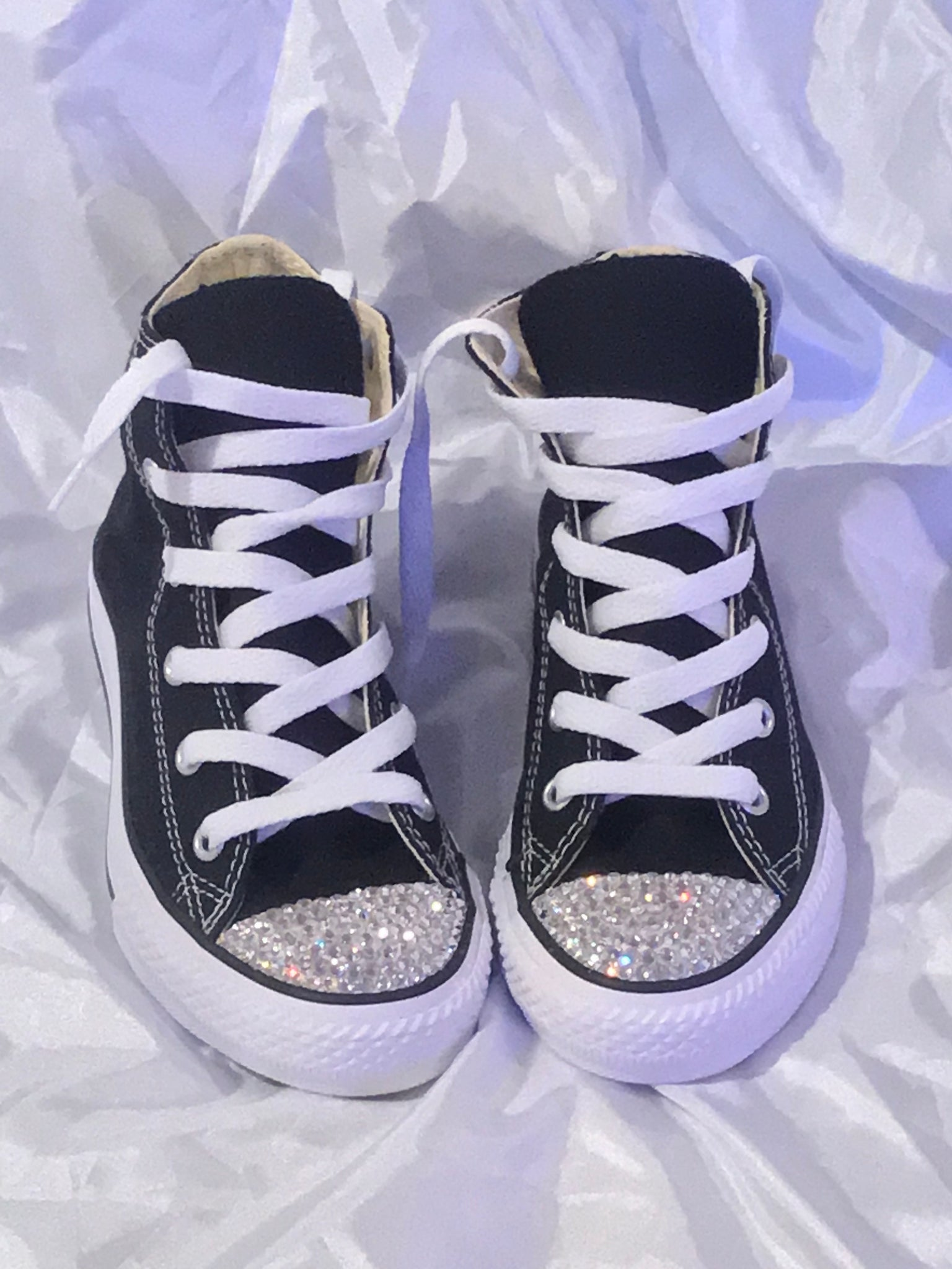 b21f5e6a97b6 Girl s Bling Converse (All Star) Toddler – Taylors-Penny