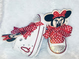 Girls Converse Minnie Mouse with Bling Pacifier