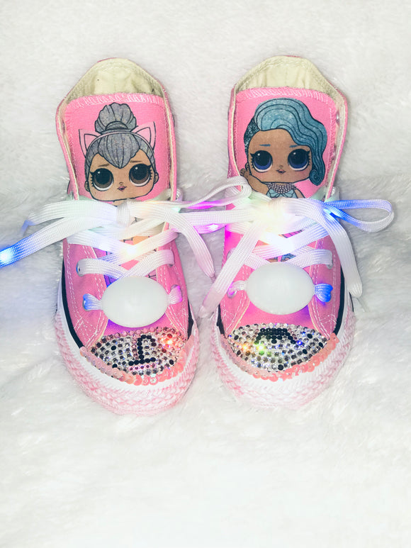 Girls Bling Converse (L.O.L. Surprise) Sneakers