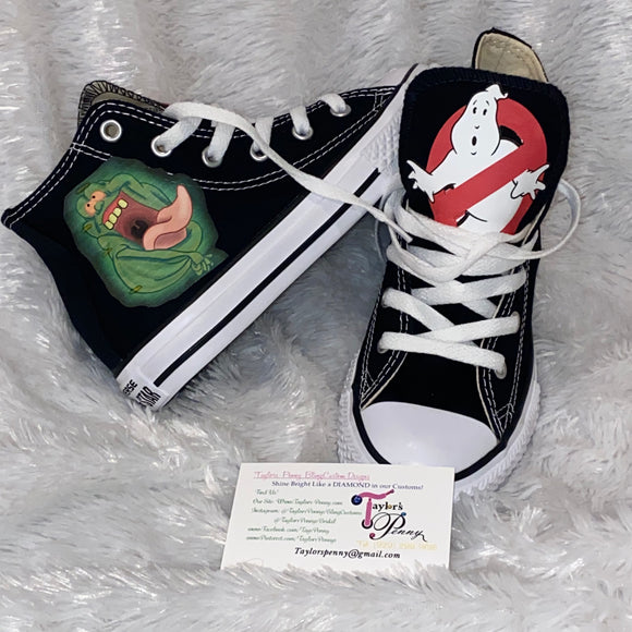 GhostBusters Boys Custom Sneakers