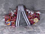 Girls Bling Converse (Candy Land) Embellished Junk Sneakers