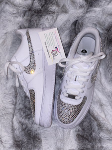 Swarovski Bling AirForce 1 (Nike Uptown's)