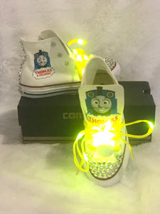 Thomas the Train Boys Converse (LIGHT-UP)