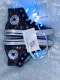 Girls Bling Converse (LOL Queen Bee Surprise) Embellished